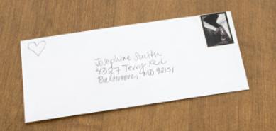 une vrai lettre