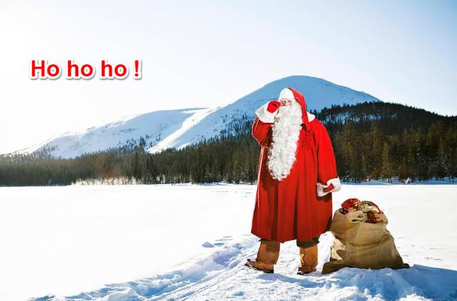 Est-ce que le Père Noël me lit depuis la Finlande ?