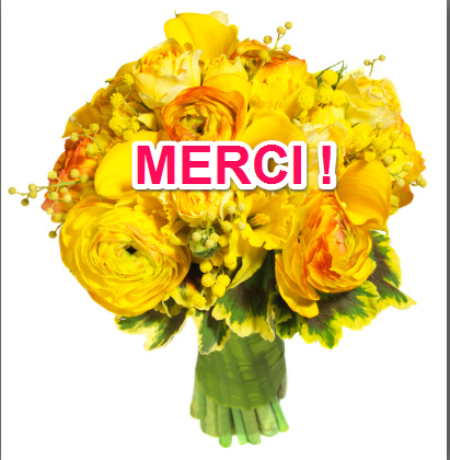 pilar lopez sophrologie gratitude merci bouquet de fleur jaune merci