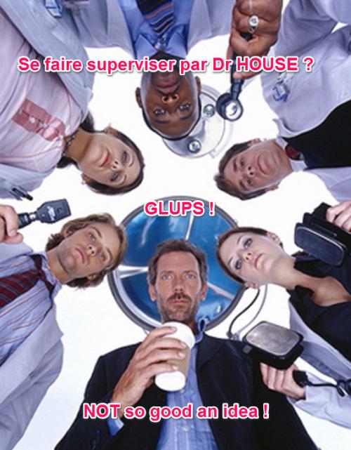 dr house supervise pilar lopez sophrologie feuilleton été 2013 not so good idea