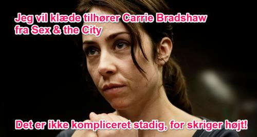 Je veux le dressing de Carrie Bradshaw dans Sex & The City. C'est pas compliqué, bordel de merde !