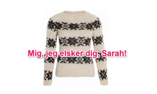 Moi, je t'aime, Sarah !